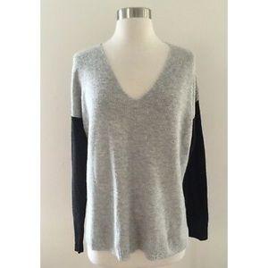 Madewell Warmlight V-neck Pullover Sweater